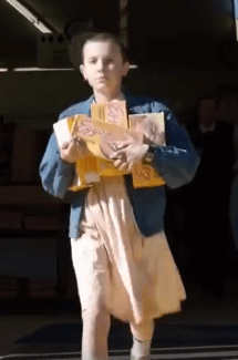 Eleven from Stranger Things