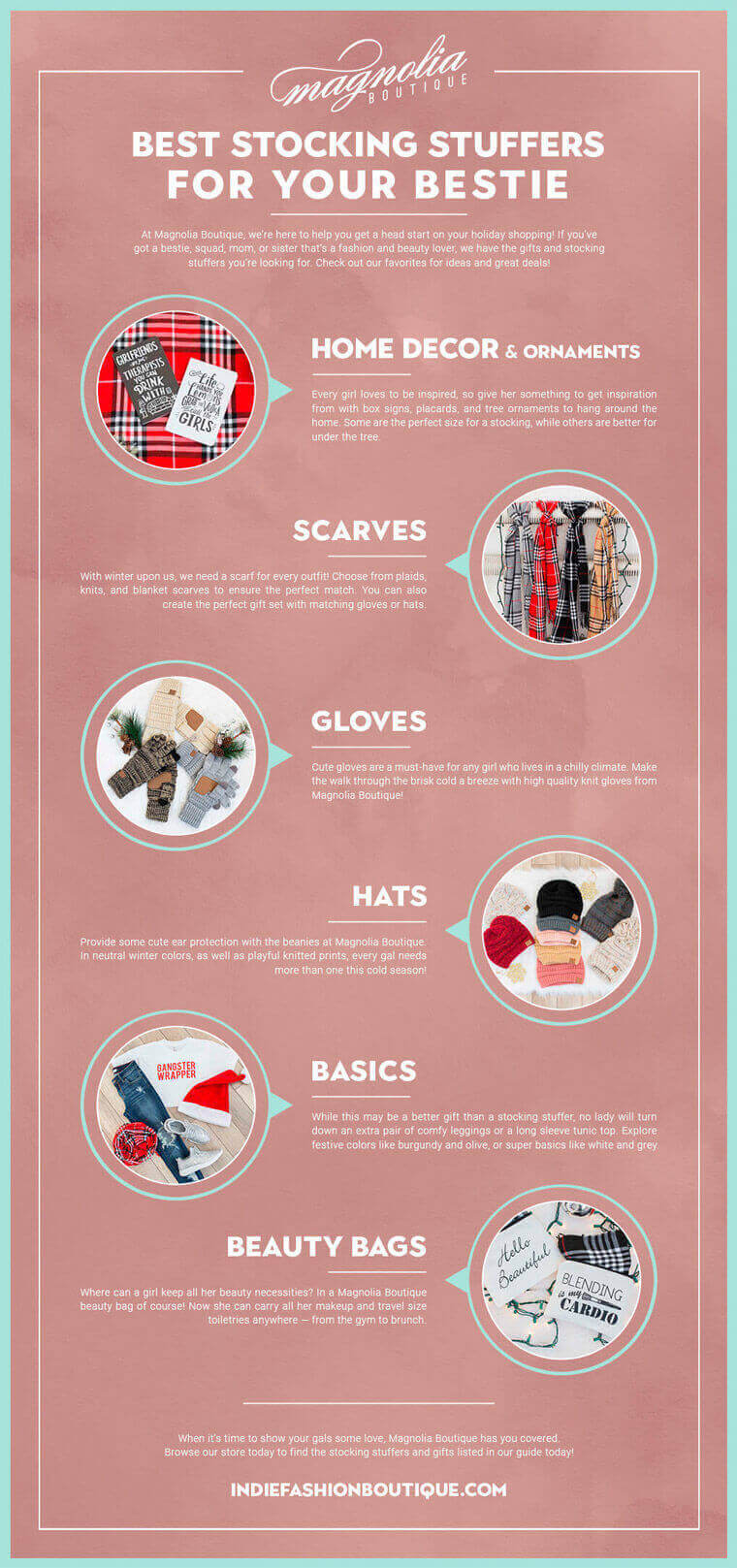 stocking stuffers infographic