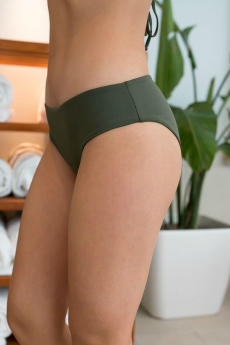 Olive green bathing suit bottoms