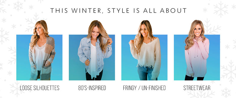 Winter trend infographic